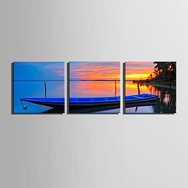 キャンバスセット 風景 Modern,3枚 キャンバス 四角形 版画 壁の装飾 For ホームデコレーション
