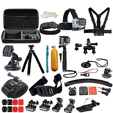 アクセサリー キット 取付方法 多機能 3ウェイ 調整可 ために アクションカメラ フリーサイズ Xiaomi Camera SJCAM スキー 潜水 サーフィン ユニバーサル オート 軍隊 スノーモービル 航空 映画や音楽 狩猟と釣り ラジオコントロール スカイダイビング