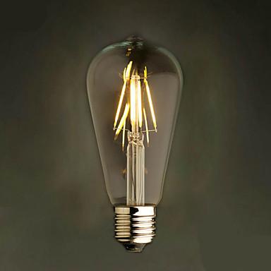 E27 4W st64led ravintola koristeluun baari kattokruunu retro Edison jäljitelmä johti volframi lamppu