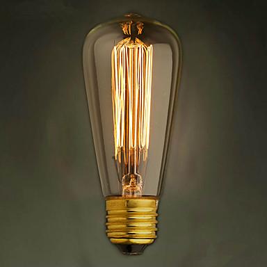 1pc 40 W 400 lm E26 / E27 ST48 LED-Perlen Dekorativ Warmes Weiß 220-240 V