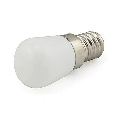 1W 480lm E14 LED-pallolamput Tuubi 1 LED-helmet COB Koristeltu Kylmä valkoinen 220-240V