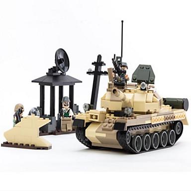 Actionfigurer og kosedyr / Byggeklosser for Gift Byggeklosser Modell- og byggeleke Tank / Maskin ABS5 til 7 år / 8 til 13 år / 14 år og