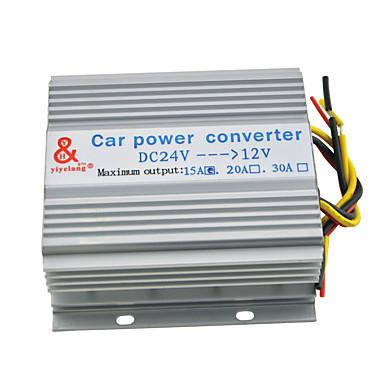 kuorma-auto 15a 180W imput dc 24v ja 12v tuotos virtalähde muuntaja muunnin