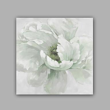 Håndmalte Abstrakt Blomstret/BotaniskKlassisk Moderne Et Panel Lerret Hang malte oljemaleri For Hjem Dekor