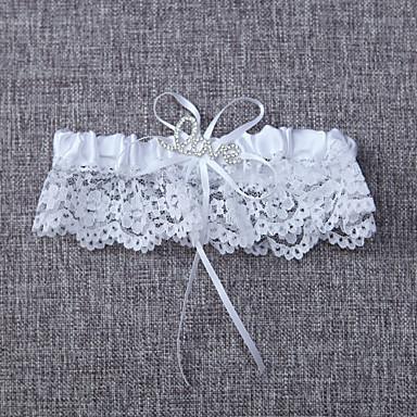 Blonder Klassisk Bryllupsklær  -  Sløyfe Strømpebånd