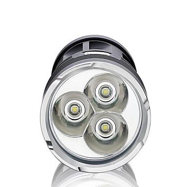LED taskulamput LED 2200lm lm 3 Tila LED Himmennettävissä Vedenkestävä High Power Erityiskevyet Telttailu / Retkely / Luolailu