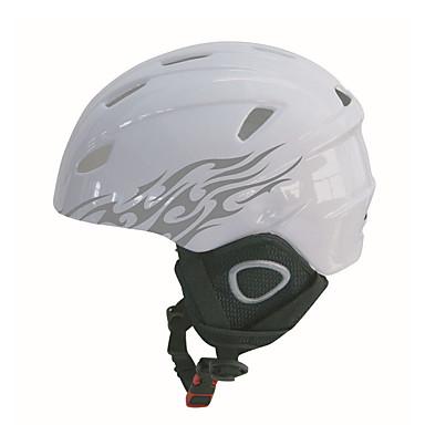 Helmet Unisex One Piece Urheilu Sports Helmet Snow Helmet Hiilikuitu + EPS Lumiurheilu