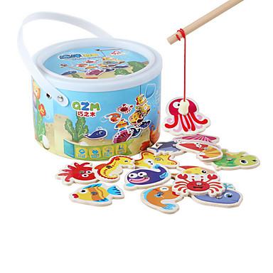 磁石玩具 知育玩具 イルカ 観賞魚用 蛸 Shark アニマル ウッド