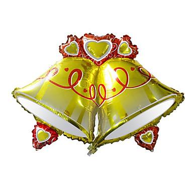 voordelige Ballonnen-Ballen Ballonnen Kerstbomen Geest Sneeuwman Creatief Noviteit Aluminium Jongens Meisjes Speeltjes Geschenk 1 pcs