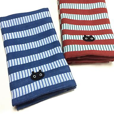 Vaskehåndklæ Garn Bleket 100% Lintøy Fingerspiss Håndklæ