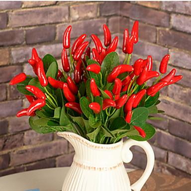 Keinotekoinen Flowers 1 haara minimalistisesta Kasvit / Muut Pöytäkukka