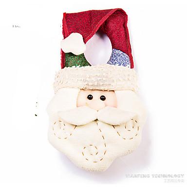 Joulupukki-asu Lumiukko Joulukoristeet Cartoon Muoti Korkealaatuinen Lovely tekstiili Tyttöjen Poikien Lahja
