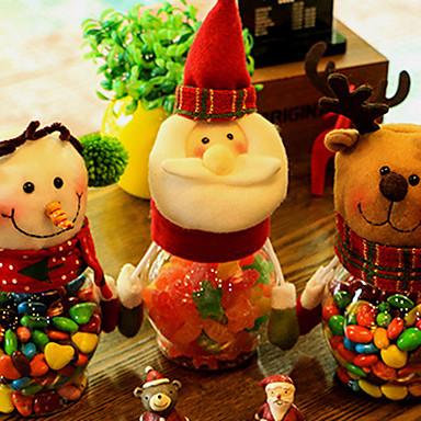 クリスマステーブルの装飾のための1個のクリスマス飾り
