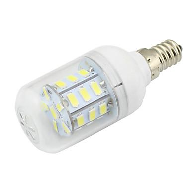 2W 500 lm E14 LED-maissilamput T 27 ledit SMD 5730 Koristeltu Lämmin valkoinen Kylmä valkoinen AC85-265 DC 12V AC 85-265V