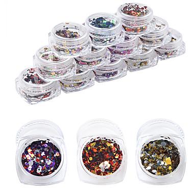 12pcs/set Nail Art Decoration tekojalokivi Pearls meikki Kosmeettiset Nail Art Design