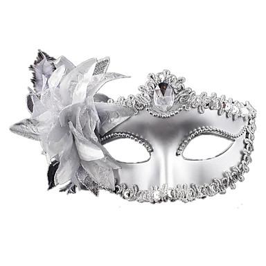 Недорогие Праздничные маски-Маски на Хэллоуин Маскарадные маски текстильный пластик Ужасы Взрослые Девочки