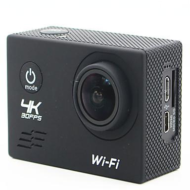 SJ4K Toimintakamera / Urheilukamera 20mp 4608 x 3456 Wifi Säädettävä Langaton Laajakulma 30fps Ei ± 2 EV Ei CMOS 32 GB H.264 Yksittäinen