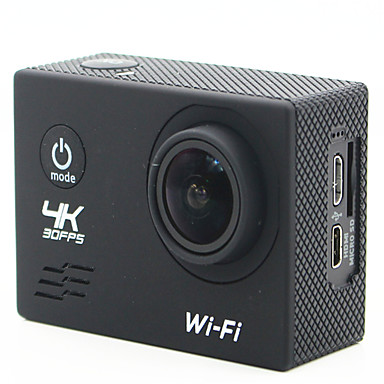 SJ4K كاميرا ستاي / كاميرا النشاط 20MP 4608 x 3456 Wifi قابل للتعديل لاسلكي زاوية واسعة 30fps لا ± 2EV لا CMOS 32 GB H.264 لقطة واحدة