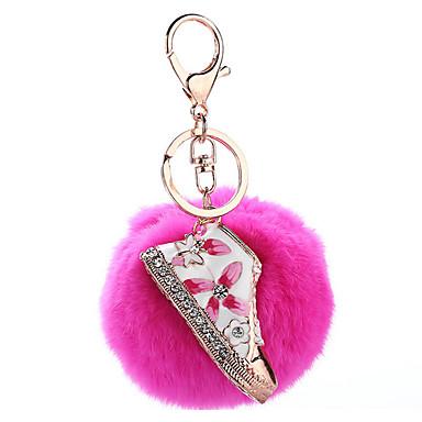 Key Chain おもちゃ Key Chain 球体 メタル プラッシュ 1 小品 女の子 クリスマス 新年 誕生日 ギフト