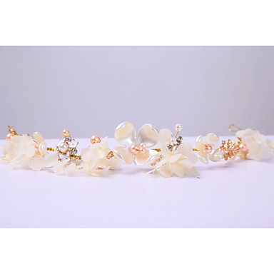 chiffon nachahmung perle legierung stirnbänder kopfbedeckung elegante stil