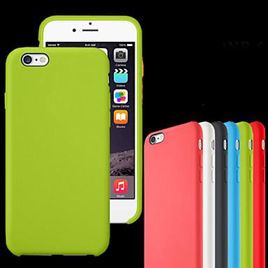 Case Kompatibilitás Apple iPhone 8 iPhone 8 Plus iPhone 6 iPhone 6 Plus iPhone 7 Plus iPhone 7 Ütésálló Other Fekete tok Tömör szín Puha