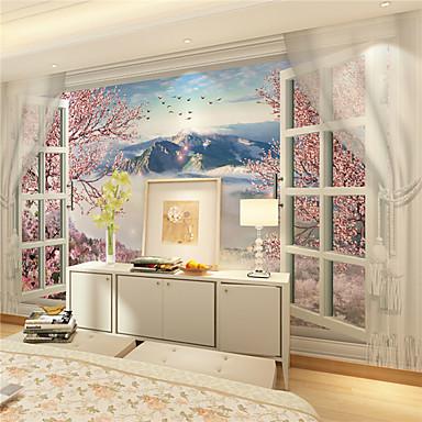 壁画 キャンバス ウォールカバーリング - 接着剤必要 アールデコ調 3D