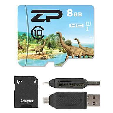 ZP 8GB Micro-SD-Karte TF-Karte Speicherkarte UHS-I U1 / Class10