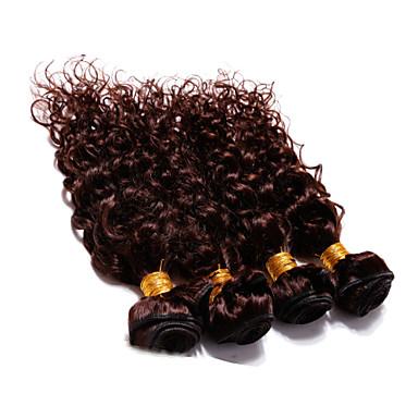 Włosy brazylijskie Pofalowana Klasyczny Ludzkie włosy wyplata 4szt Wysoka jakość Człowieka splotów włosów Codzienny