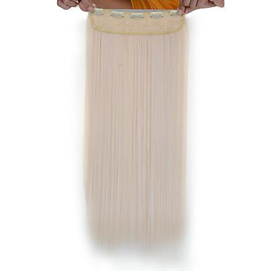 A Clipser Synthétique Extensions de cheveux 120 24