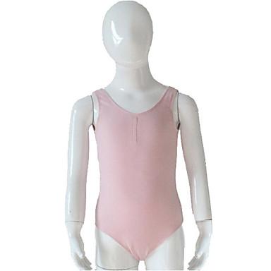Danse classique justaucorps Femme Enfant Spectacle Entraînement Coton Lycra 1 Pièce Collant