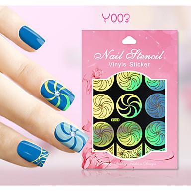 Nail Art naljepnica Diecut Manikura Matrica Nakit za nokte Crtani film Cvijet Lijep šminka Kozmetički Nail art dizajn