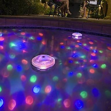 brelong llevó tina de baño la luz del bebé bañera fluorescente luz de la piscina bajo el agua la luz de colores (DC4.5)