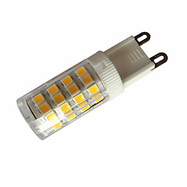 3,5w g4 / g9 / e14 led-bi-pin valot t 51 smd 2835 300-350lm lämmin valkoinen / viileä valkoinen ac110 / ac220 v 1 kpl