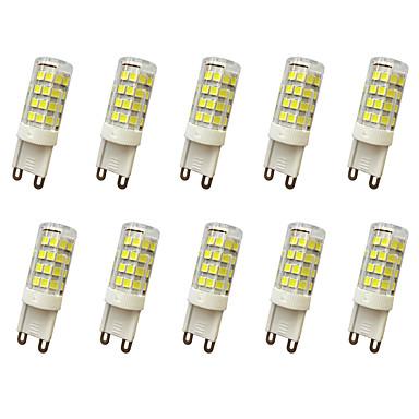 10pcs 300-360lm E14 / G9 / G4 LED Bi-Pin lamput T 51LED LED-helmet SMD 2835 Koristeltu Lämmin valkoinen / Kylmä valkoinen 220V / 110V /