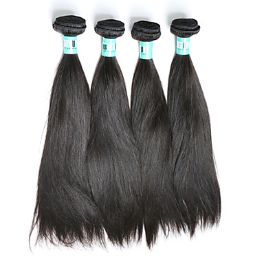 İnsan saç örgüleri İri Dalgalı Peru Saçı Rovné 4 Parça saç örgüleri