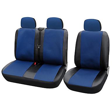 رخيصةأون اكسسوارات السيارات الداخلية-AUTOYOUTH أغطية مقاعد السيارات أغطية المقاعد رمادي / أحمر / أزرق منسوجات عادي من أجل عالمي