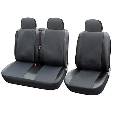 autoyouth 12 de asiento del asiento de coche cubierta cubiertas de ajuste universal transportador / furgoneta con cuero artificial