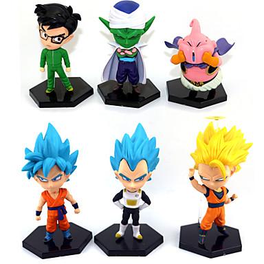Las figuras de acción del anime Inspirado por Bola de Dragón Goku Animé Accesorios de Cosplay figura CLORURO DE POLIVINILO Disfraces de Halloween