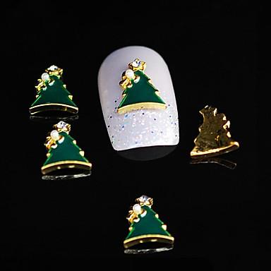 10pcs copac Xmas Dimond aliaj 3d unghii stras decorare unghii DIY art