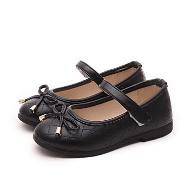 女の子 靴 レザーレット 春 秋 メリージェーン フラット 用途 カジュアル ホワイト ブラック レッド ピンク