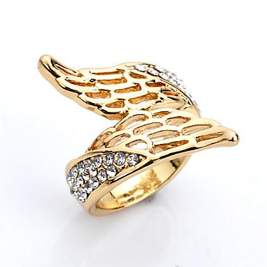 Ringe / Alltag Normal Schmuck Aleación Damen Ring 1 Stück,Eine Größe Goldgelb