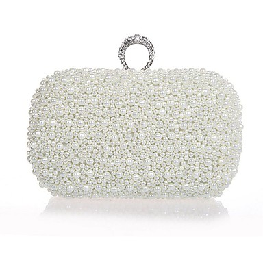 c407164768 cheap Bags-Women  039 s Bags Plastic Evening Bag Imitation Pearl Solid  Colored