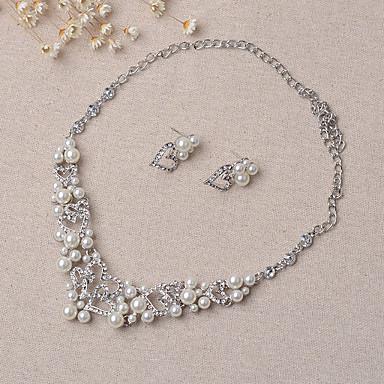 Damen Hochzeit Party Ohrringe Halsketten