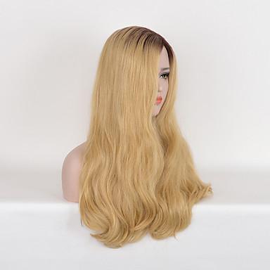 Synthetische Haare Perücken Wellen Natürliche Perücke Lang