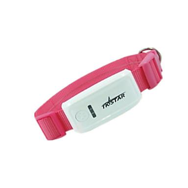 犬 GPS首輪 GPS ワイヤレス 充電式 付属の電池 電子/エレクトリック ソリッド プラスチック ピンク