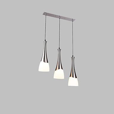 3-luz Lámparas Colgantes Luz Downlight - Los diseñadores, 110-120V / 220-240V Bombilla no incluida / 10-15㎡ / E26 / E27