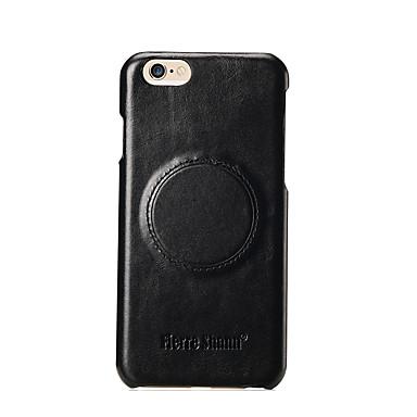 Etui Käyttötarkoitus Apple iPhone 7 iPhone 7 Plus iPhone 6 Iskunkestävä Takakuori Yhtenäinen väri Kova Nahka varten iPhone 8 Plus iPhone