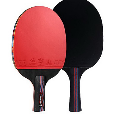 Ping Pang/Tischtennis-Schläger Ping Pang Holz Langer Griff Pickel