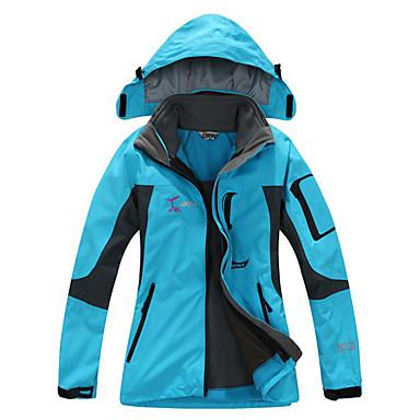 Mujer Chaqueta para senderismo Al aire libre Invierno Impermeable Mantiene abrigado Secado rápido Resistente al Viento Listo para vestir