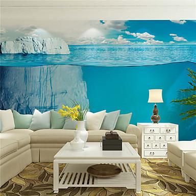 アールデコ調 / 3D ホームのための壁紙 現代風 ウォールカバーリング , キャンバス 材料 接着剤必要 壁画 , ルームWallcovering